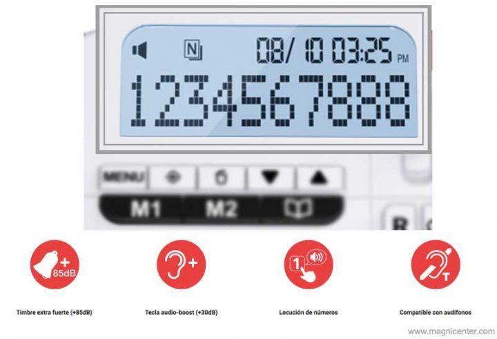 Xtra 1150 el telefono de sobremesa con funciones de comfort optimizadas.