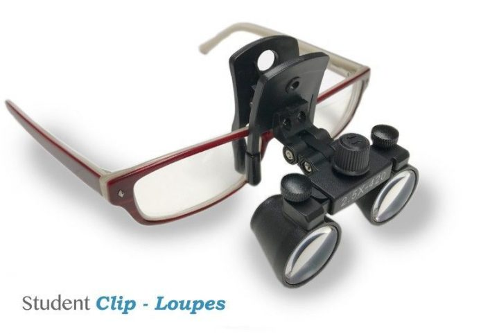 Lupas Dentales - Student Clip Loupes -