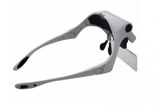 Lupa Magnifying Glass con Led 5 lentes