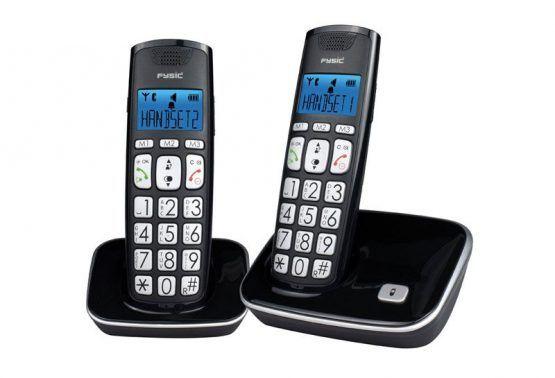 TELF091 - Dúo de teléfonos inalámbricos digitales