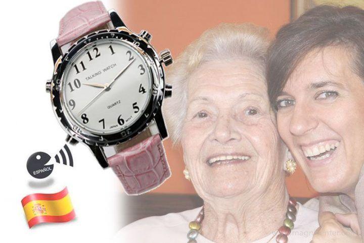 abuelas relojes para ciegos