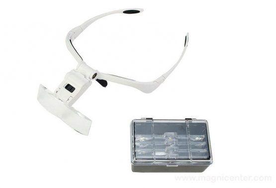Gafas Lupas Led 5 set lentes